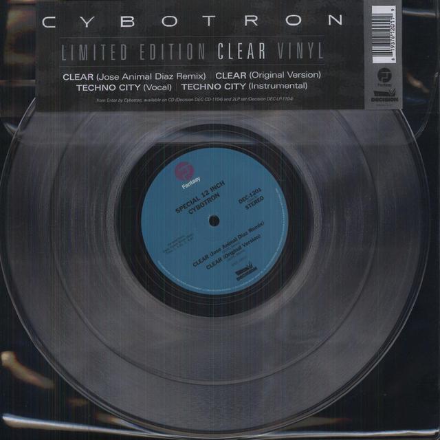 Cybotron CLEAR Vinyl Record