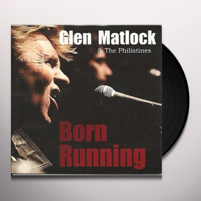 Glen Matlock BORN RUNNING Vinyl Record - 180 Gram Pressing