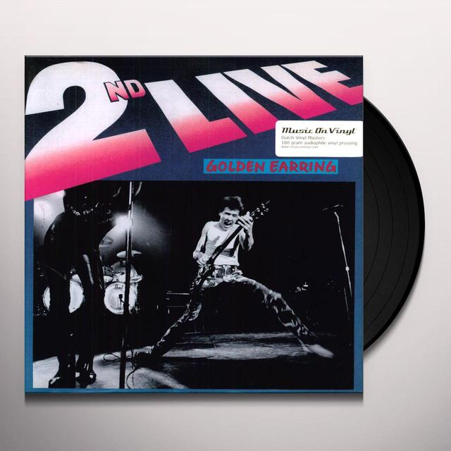 Golden Earring 2ND LIVE Vinyl Record - 180 Gram Pressing