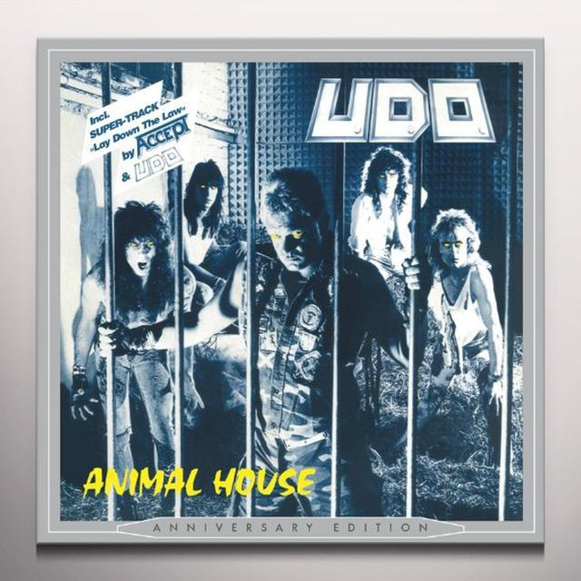 U.D.O. ANIMAL HOUSE Vinyl Record - Blue Vinyl, Colored Vinyl