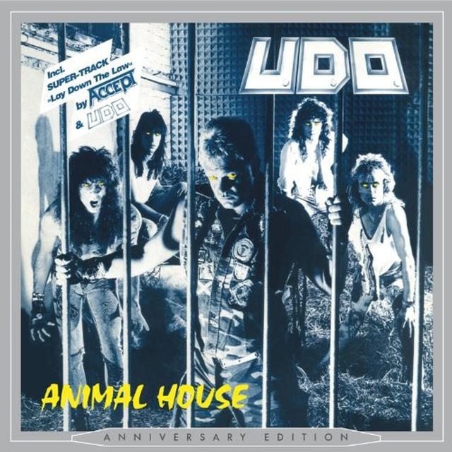 U.D.O. ANIMAL HOUSE Vinyl Record - Blue Vinyl, Colored Vinyl