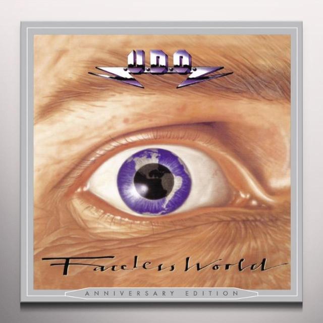 U.D.O. FACELESS WORLD Vinyl Record - Black Vinyl, Colored Vinyl