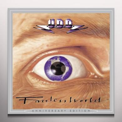 U.D.O. FACELESS WORLD Vinyl Record - Colored Vinyl, White Vinyl