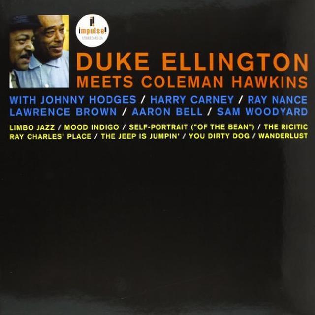 Duke Ellington / Coleman Hawkins DUKE ELLINGTON MEETS COLEMAN HAWKINS Vinyl Record - 180 Gram Pressing