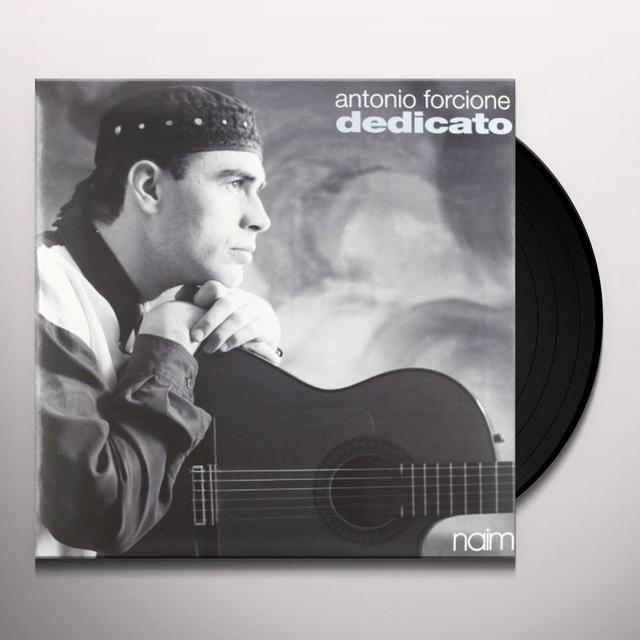 Antonio Forcione DEDICATO Vinyl Record - 180 Gram Pressing