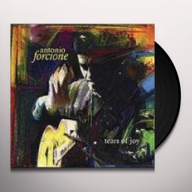 Antonio Forcione TEARS OF JOY Vinyl Record - 180 Gram Pressing