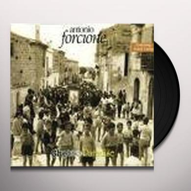 Antonio Forcione GHETTO PARADISE Vinyl Record