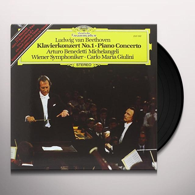 Beethoven / Giulini CTO FOR PIANO & ORCHESTRA 1 Vinyl Record - 180 Gram Pressing