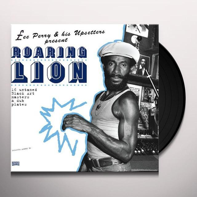 Lee Perry & His Upsetters ROARING LION Vinyl Record