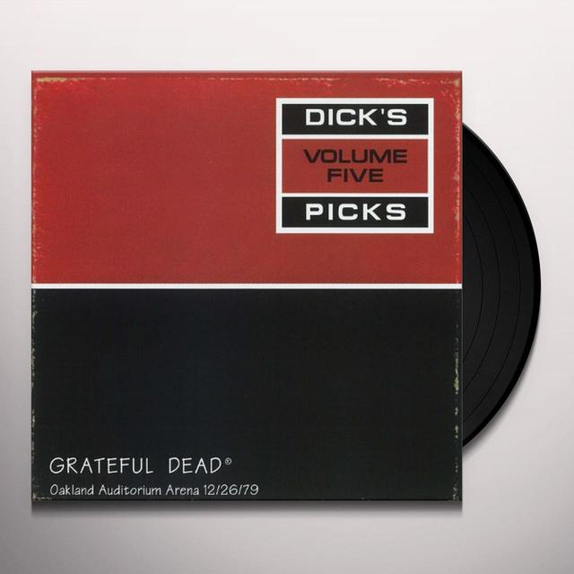 Grateful Dead DICK'S PICK 5 Vinyl Record