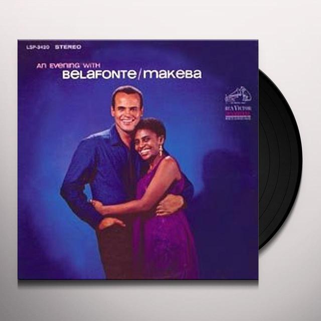 Harry Belafonte / Miriam Makeba AN EVENING WITH BELAFONTE AND MAKEBA Vinyl Record - 180 Gram Pressing