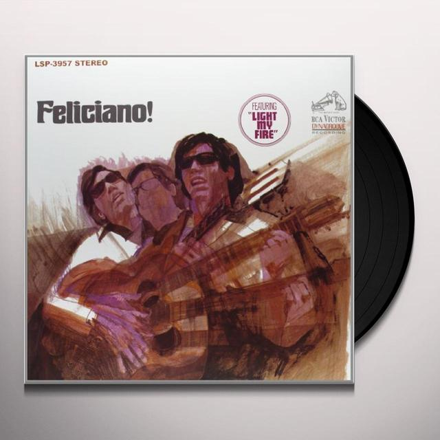 Jose Feliciano FELICIANO Vinyl Record - 180 Gram Pressing