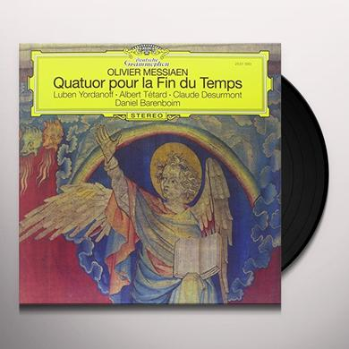 Messiaen / Barenboim QUATUOR POUR LA FIN DU TEMPS Vinyl Record - 180 Gram Pressing