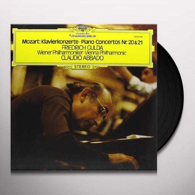 Mozart / Abbado CTOS FOR PIANO & ORCHESTRA 20 & 21 Vinyl Record