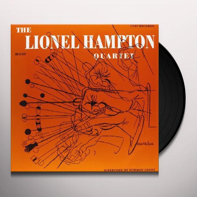 LIONEL HAMPTON QUARTET Vinyl Record - 180 Gram Pressing