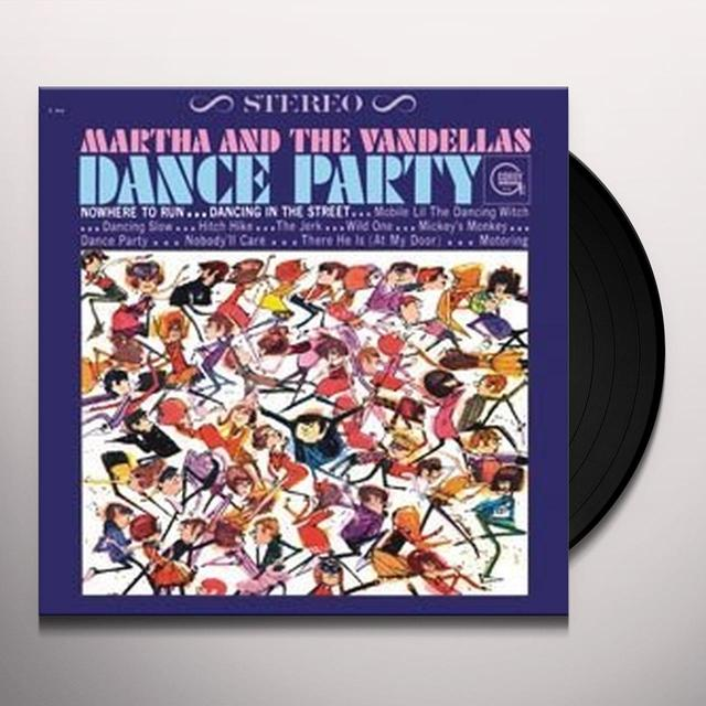 Martha & The Vandellas DANCE PARTY Vinyl Record - 180 Gram Pressing