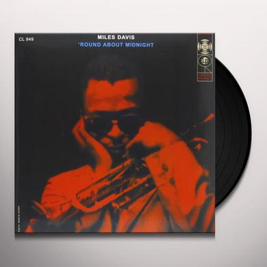 Miles Davis ROUND ABOUT MIDNIGHT Vinyl Record - 180 Gram Pressing
