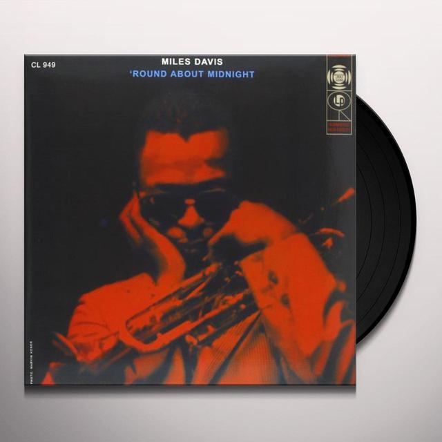Miles Davis ROUND ABOUT MIDNIGHT Vinyl Record - 180 Gram Pressing
