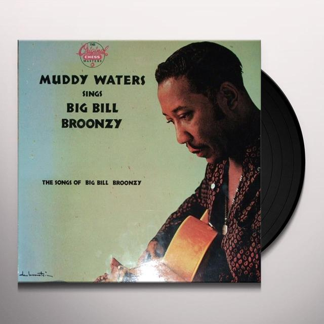 Muddy Waters SINGS BIG BILL BROONZY Vinyl Record