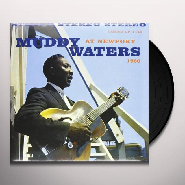 Muddy Waters AT NEWPORT Vinyl Record - 180 Gram Pressing