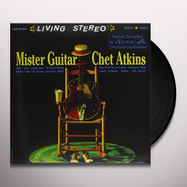 Chet Atkins MISTER GUITAR Vinyl Record - 180 Gram Pressing