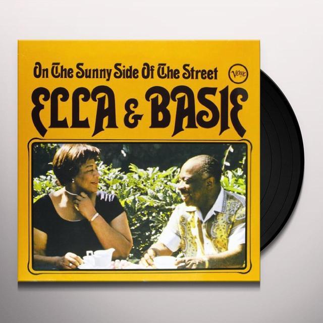 Ella Fitzgerald ON THE SUNNY SIDE OF THE STREET Vinyl Record - 180 Gram Pressing