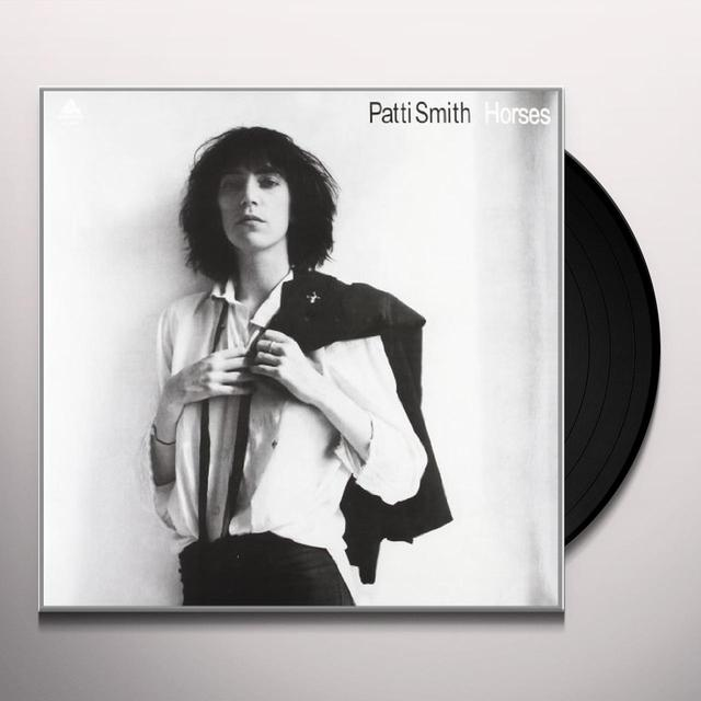 Patti Smith HORSES Vinyl Record - 180 Gram Pressing