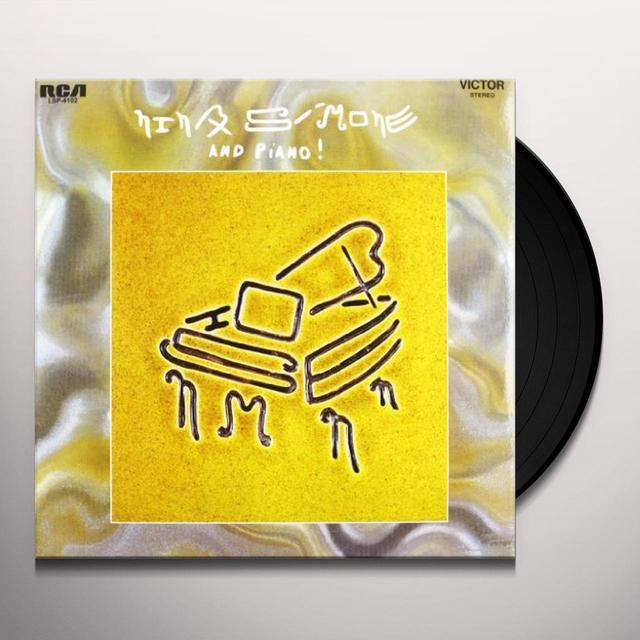 Nina Simone & PIANO Vinyl Record