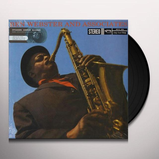 BEN WEBSTER & ASSOCIATES Vinyl Record - 180 Gram Pressing