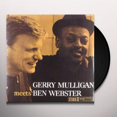 Gerry Mulligan / Ben Webster GERRY MULLIGAN MEETS BEN WEBSTER Vinyl Record - 180 Gram Pressing