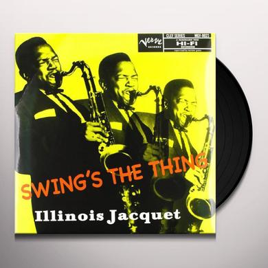 Illinois Jacquet SWING'S THE THING Vinyl Record - 180 Gram Pressing