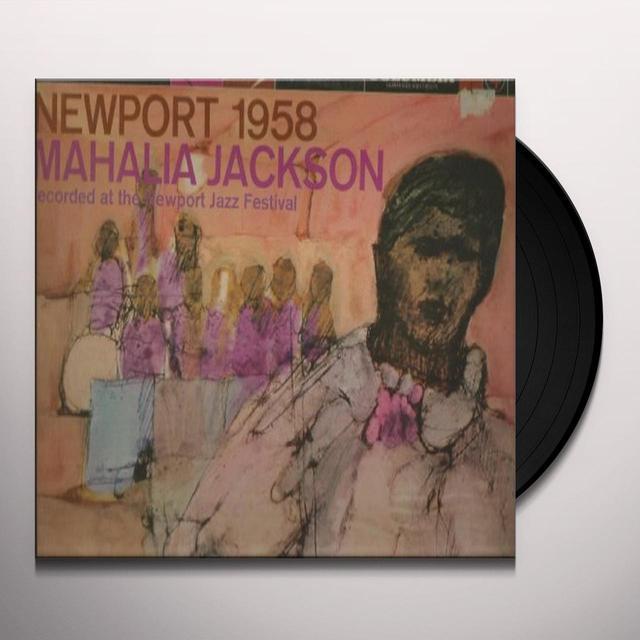 Mahalia Jackson NEWPORT 1958 Vinyl Record - 180 Gram Pressing