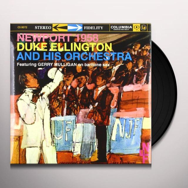 Duke Ellington AT NEWPORT 1958 Vinyl Record - 180 Gram Pressing