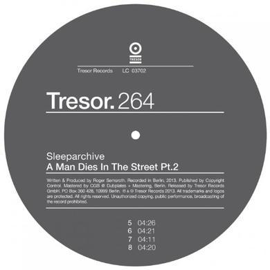 Sleeparchive MAN DIES IN THE STREET PART 2 Vinyl Record