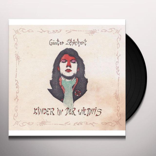 Gunter Schickert KINDER IN DER WILDNIS Vinyl Record