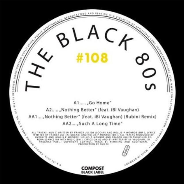 Black 80S COMPOST BLACK LABEL 108 Vinyl Record