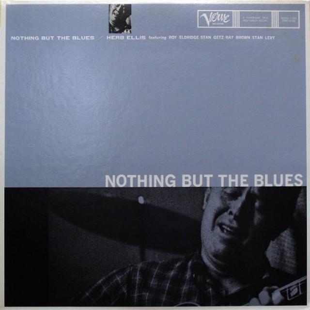 Herb Ellis NOTHING BUT THE BLUES Vinyl Record