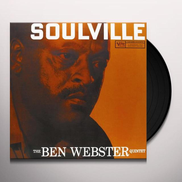 Ben Webster SOULVILLE Vinyl Record - 180 Gram Pressing