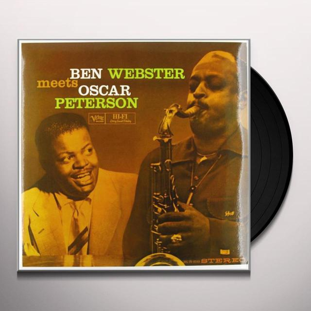 BEN WEBSTER MEETS OSCAR PETERSON (OGV) (Vinyl)