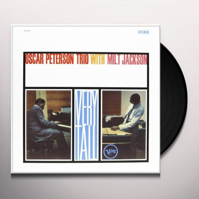 Oscar Peterson VERY TALL Vinyl Record - 180 Gram Pressing