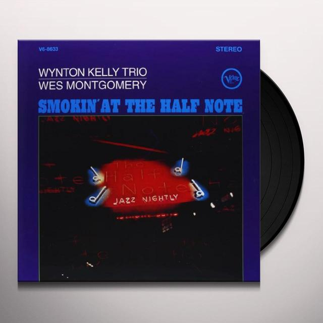 Wynton Kelly SMOKIN AT THE HALF NOTE Vinyl Record - 180 Gram Pressing