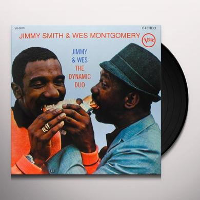 Jimmy Smith DYNAMIC DUO Vinyl Record - 180 Gram Pressing