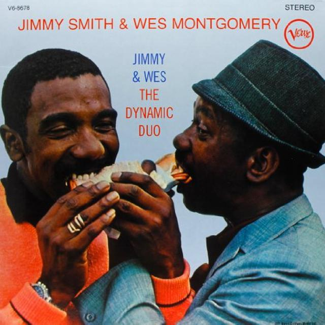 Jimmy Smith DYNAMIC DUO Vinyl Record - 180 Gram Pressing