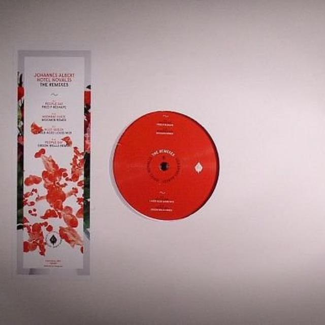Johannes Albert HOTEL NOVALIS - THE REMIXES Vinyl Record