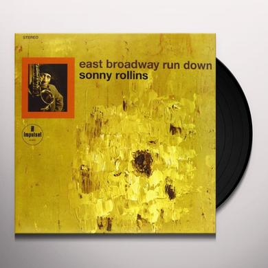 Sonny Rollins EAST BROADWAY RUN DOWN Vinyl Record