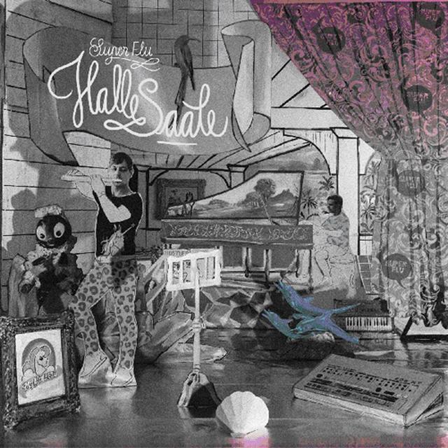 Super Flu HALLE SAALE Vinyl Record - w/CD