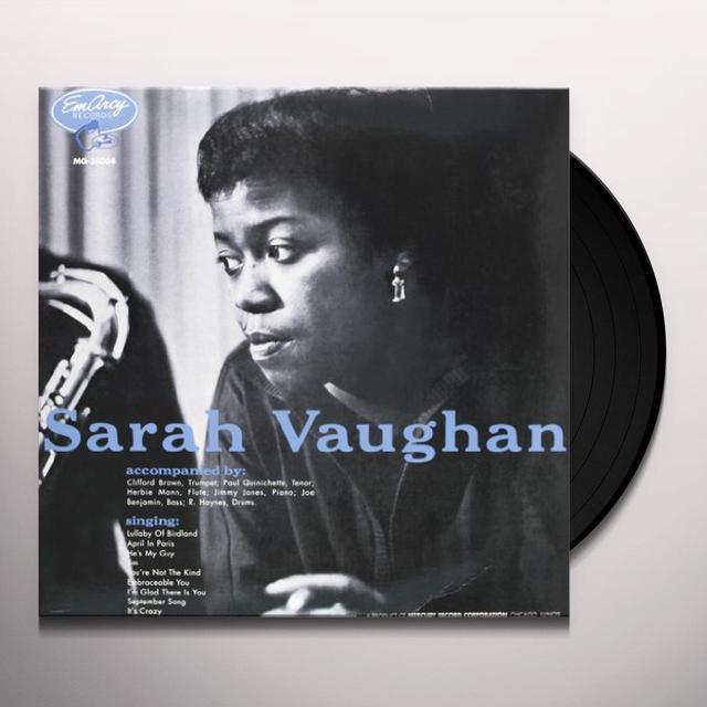 SARAH VAUGHAN Vinyl Record - 180 Gram Pressing