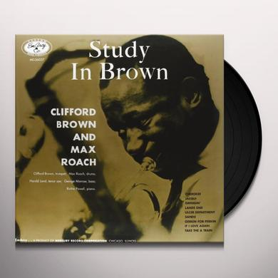 Clifford Brown STUDY IN BROWN Vinyl Record - 180 Gram Pressing