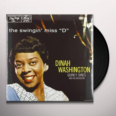 Dinah Washington SWINGIN MISS D (OGV) (Vinyl)