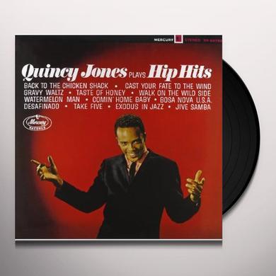 Quincy Jones PLAYS HIP HITS Vinyl Record - 180 Gram Pressing